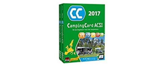 Camping cards ACSI 2017