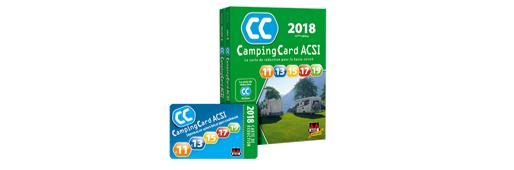 Camping Card ACSI 2018