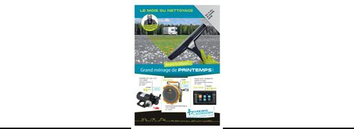 Promotion «Le mois du nettoyage» du 3 au 31 mars