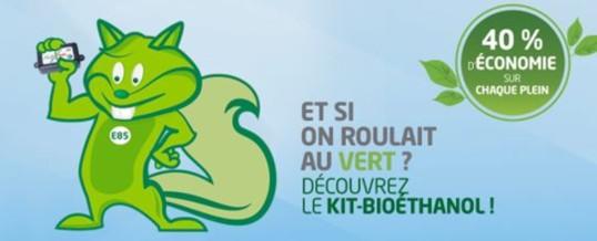 Bioéthanol E85 : Easy Drive est agréé pour la pose des kits homologués